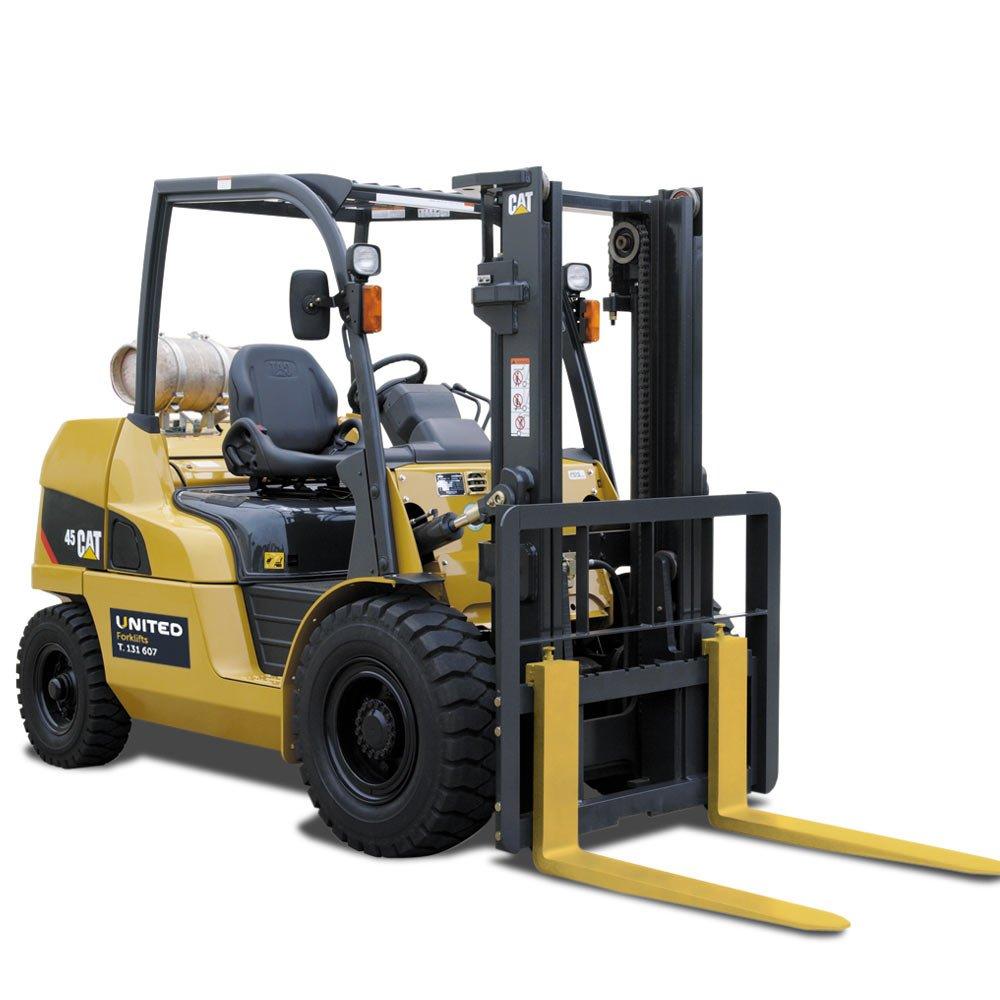 Cat Fork Lift : Cat lpg forklift gp n united equipment