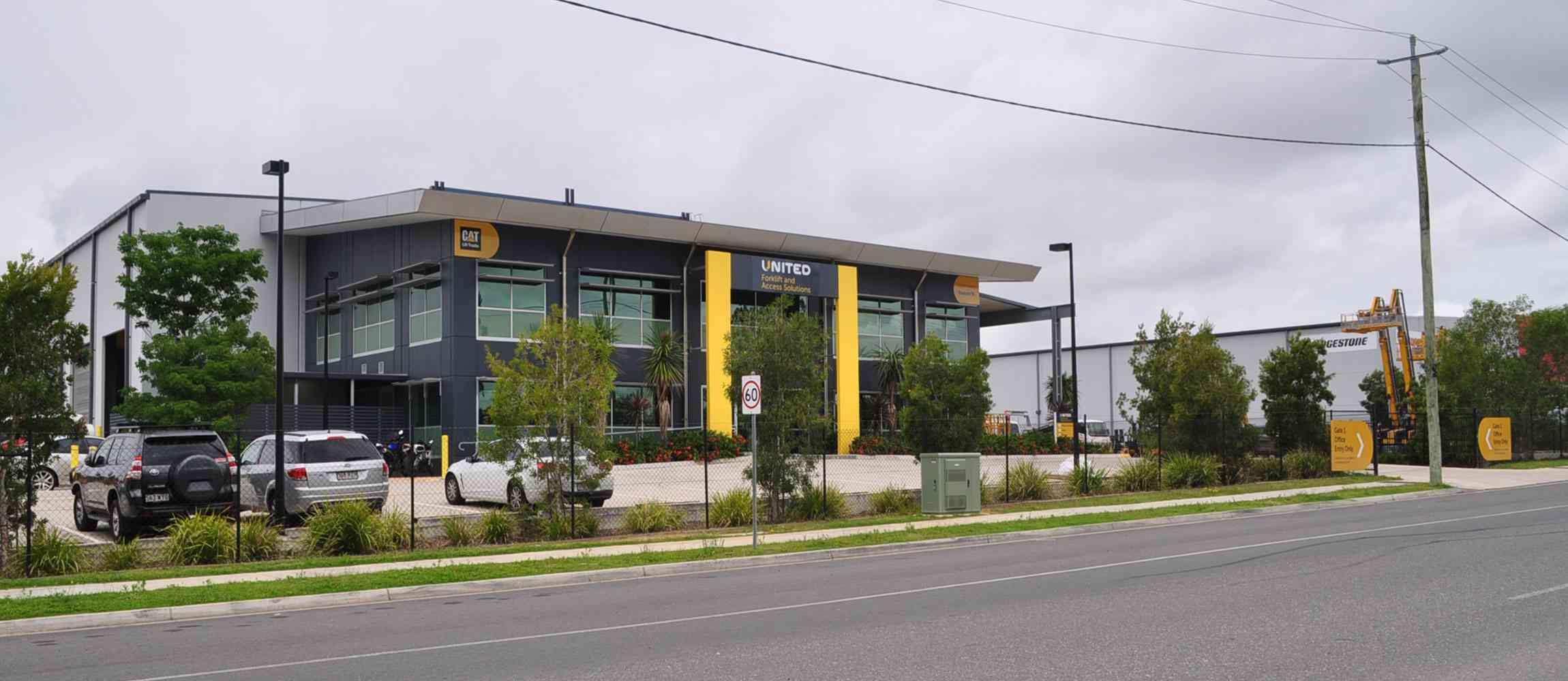 United Brisbane branch in the suburb of Eagle Farm