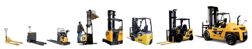 Cat forklift range from United Forklift and Access Solutions