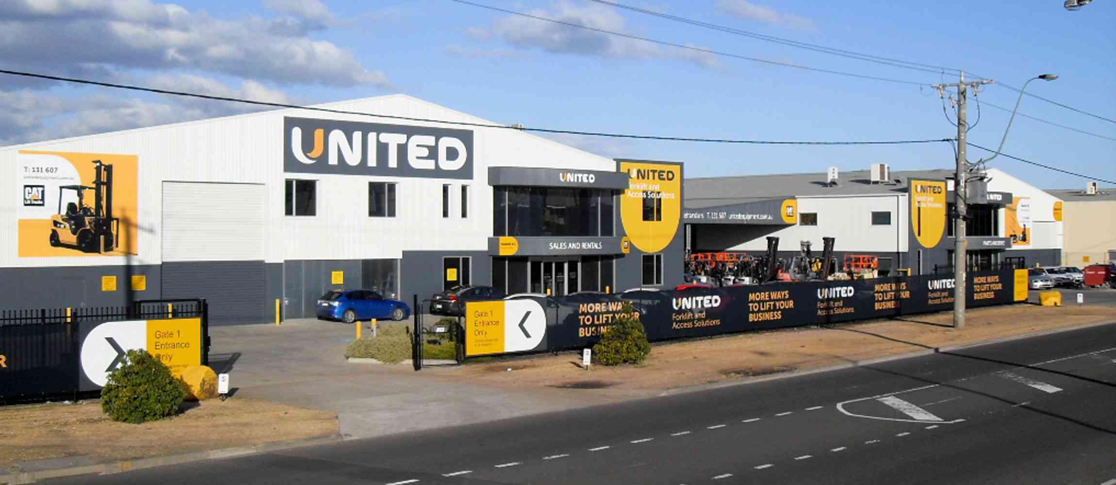 United Melbourne branch in the suburb of Altona