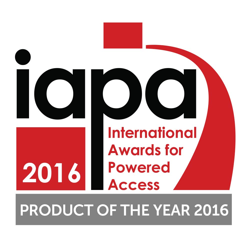Athena Bi-levelling Tracked Scissor lift won the 2016 IAPA Product of the Year Award
