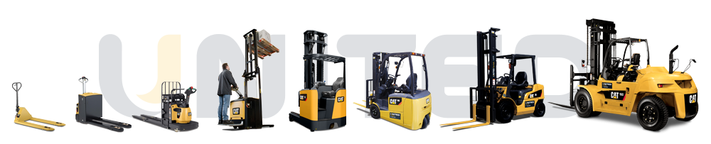 The full range of new Cat forklifts available form United Australia-wide