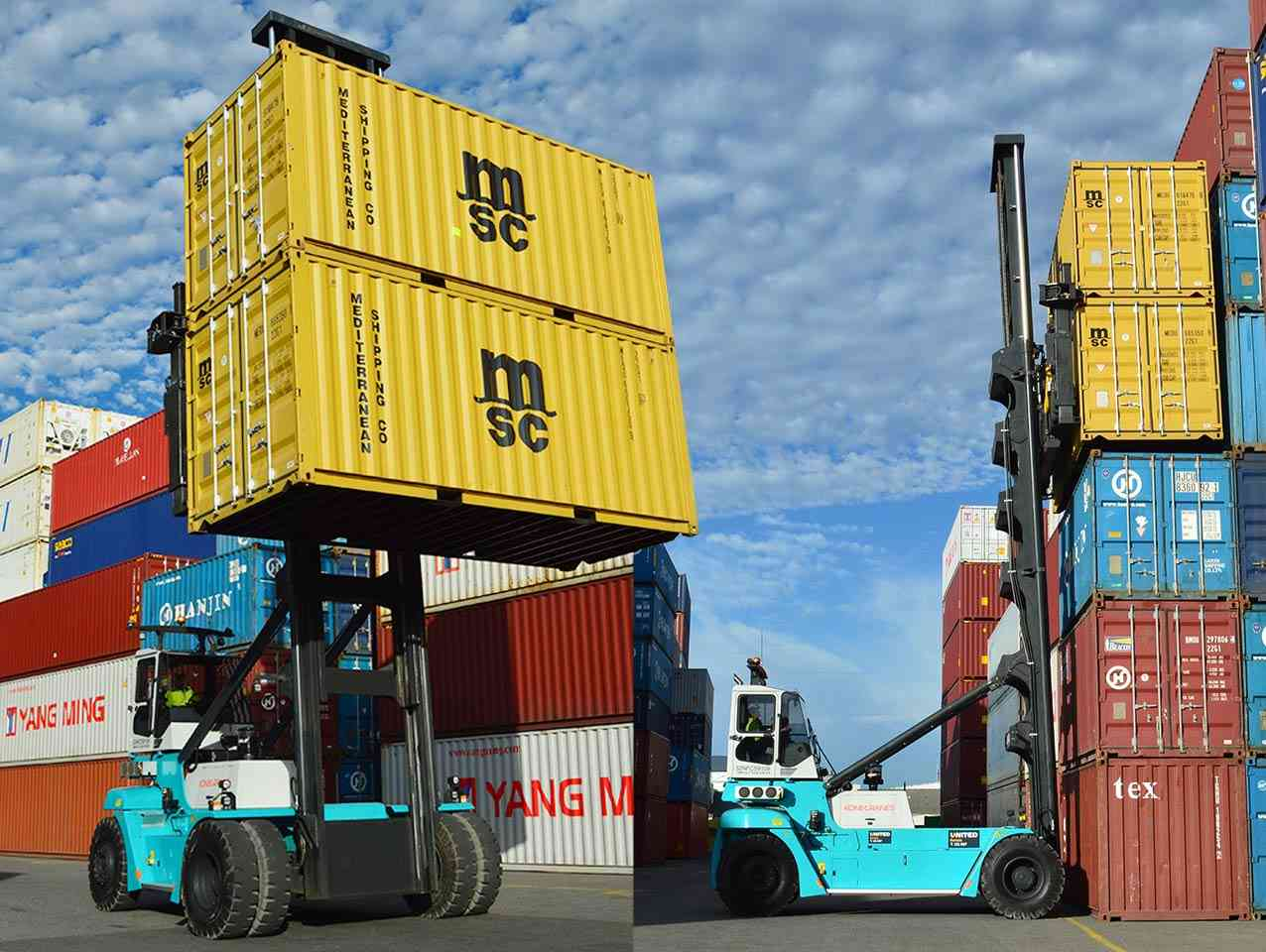CC Containers Operating Konecranes Container Handlers