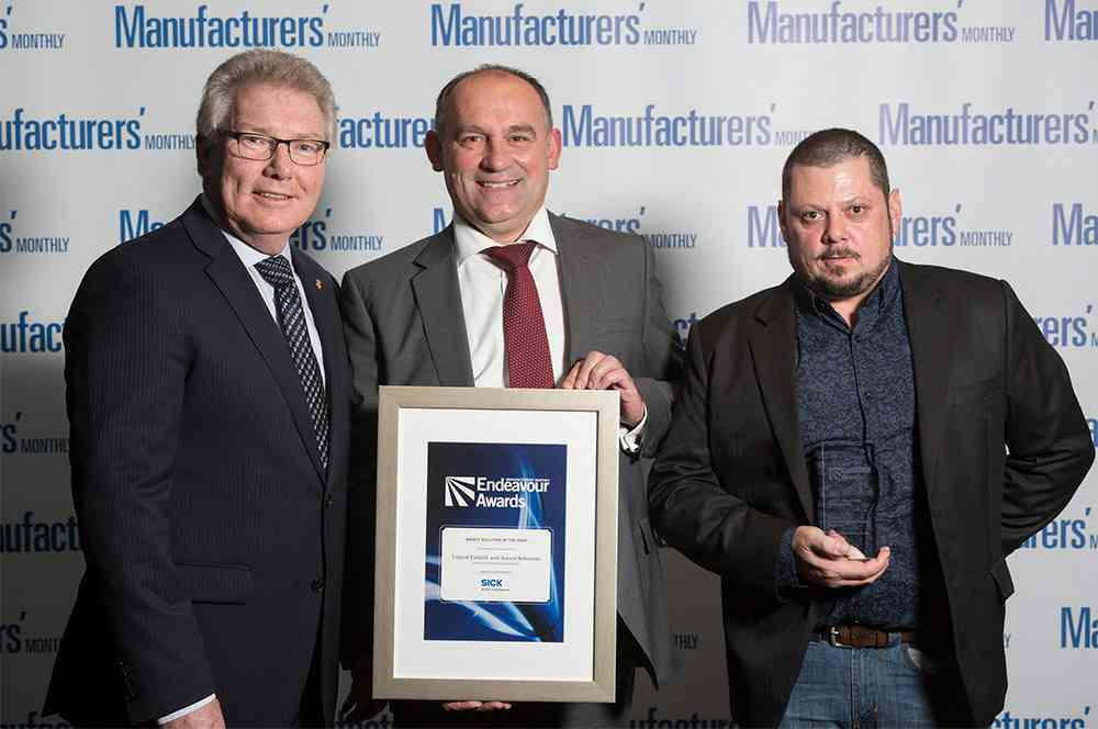 Athena 850 scissor lift has received the Safety Solution of the Year at this year's Manufacturers' Monthly Endeavour Awards.