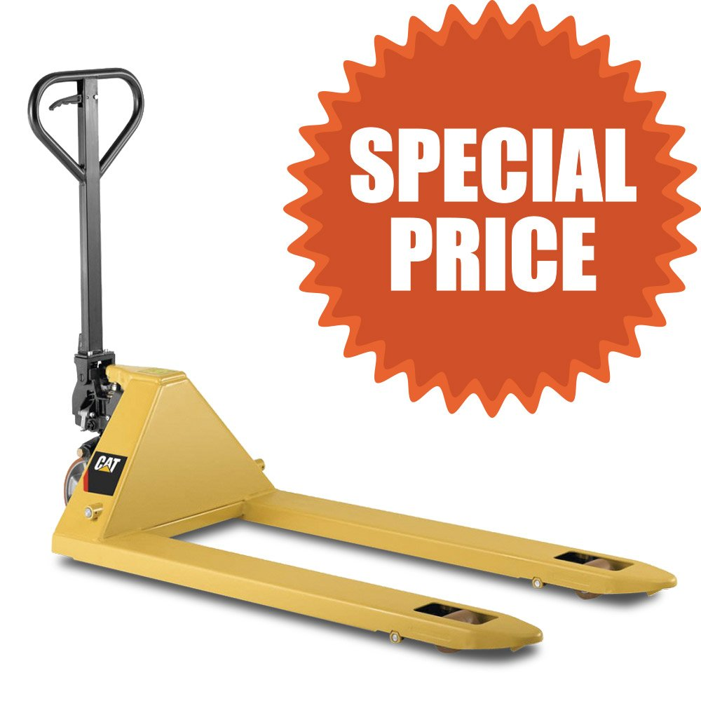 Special EOFY special on the Cat hand pallet jack