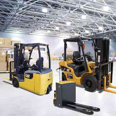 The Cat forklift sale is now on