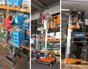 The Elevah stock picker is ideal for parts stores, warehousing and automtive.