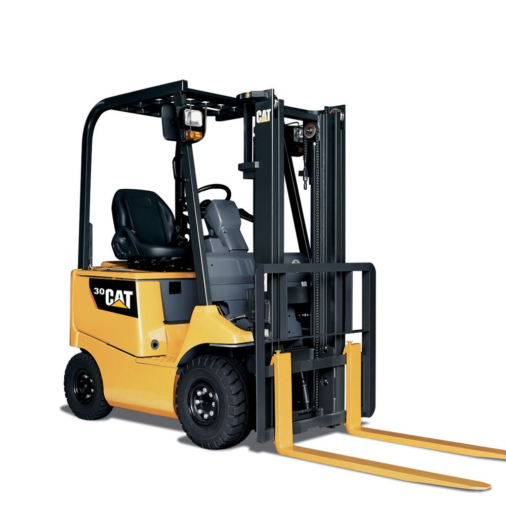 Cat-4-wheel-Electric-Forklift-EP30CA1