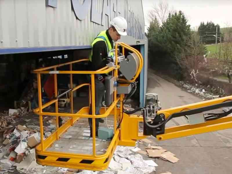 Haulotte ACtive'Shield increase safety on boom lifts
