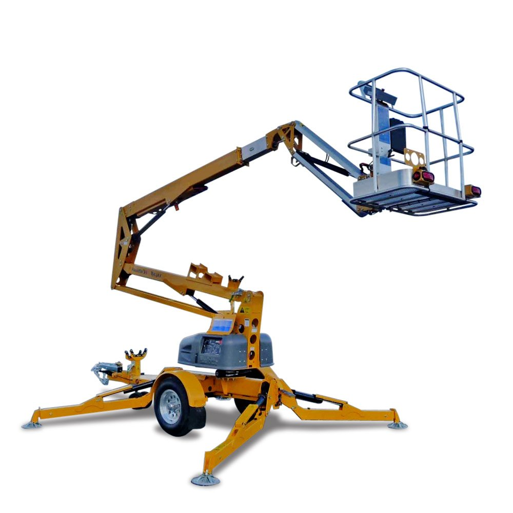 Haulotte cherry picker hta 13p united equipment newhirecherry picker sciox Gallery