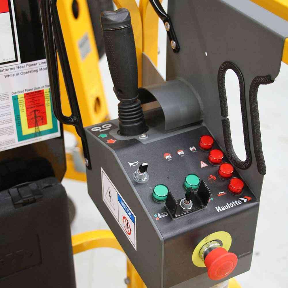 Fork Lift Controls : Haulotte electric scissor lift optimum ac united equipment