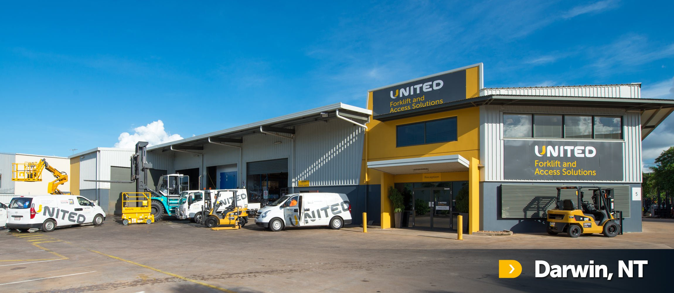 United Darwin branch in the suburb of Winnellie