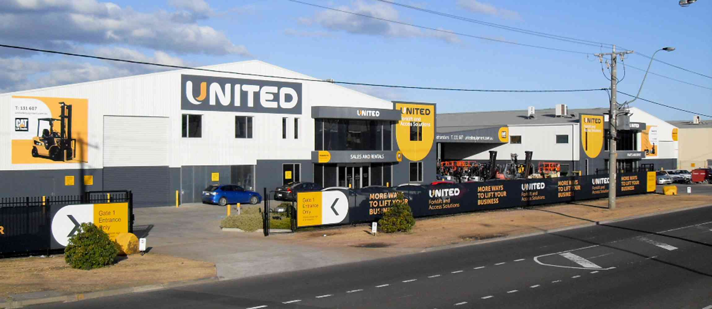 United Melbourne branch in the suburb of Altona