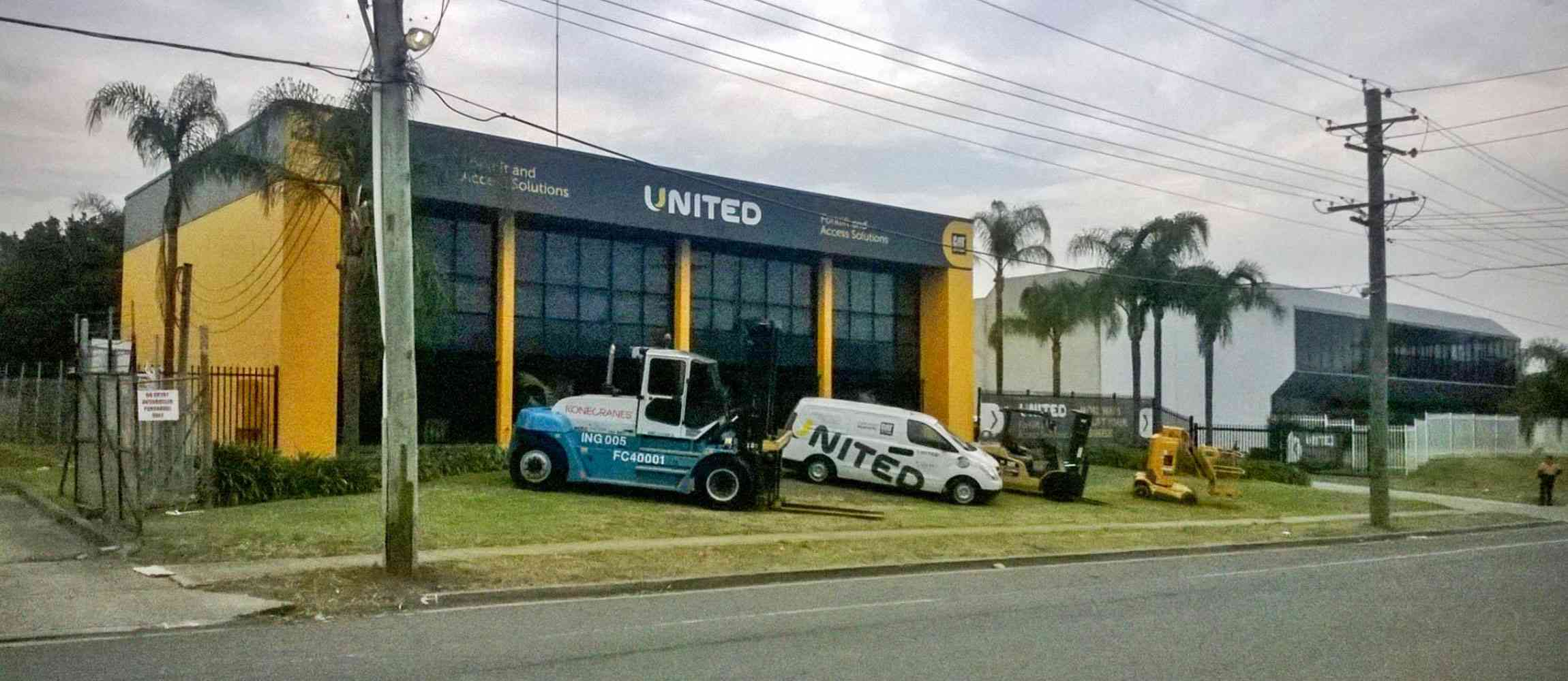 United Sydney branch in the suburb of Wetherill Park