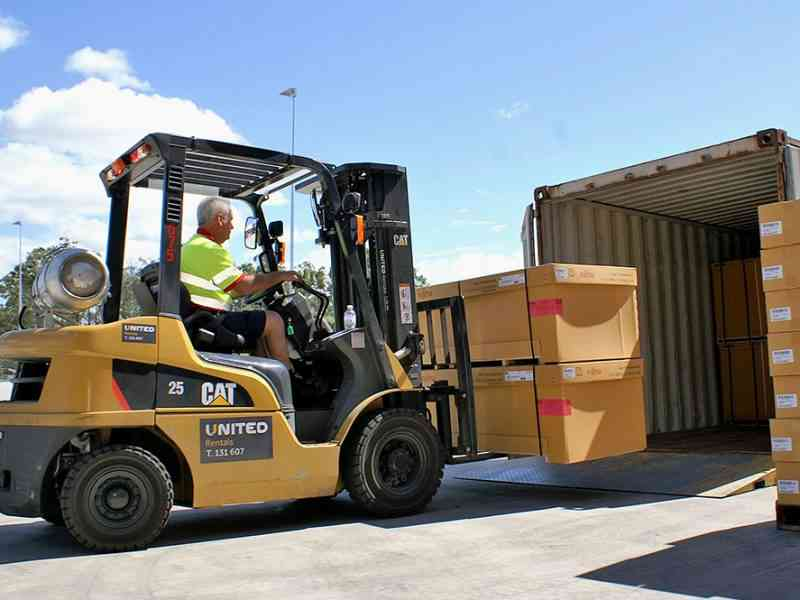 United is now the national distributor of Cat forklifts