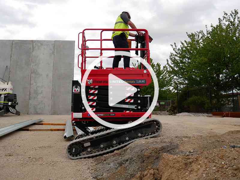 The New Athena Scissor Lift Available from United