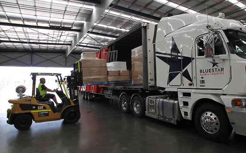 United CAT forklifts to service Bluestar Global Logistics national depos