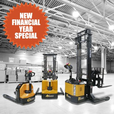 Electric Forklifts on Sale