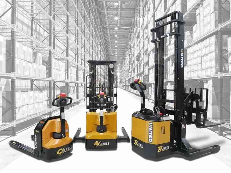 New United range of electric pallet trucks and walkie stackers