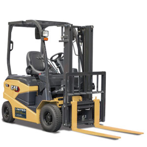 Cat 4-wheel electric forklift EP-CB Series