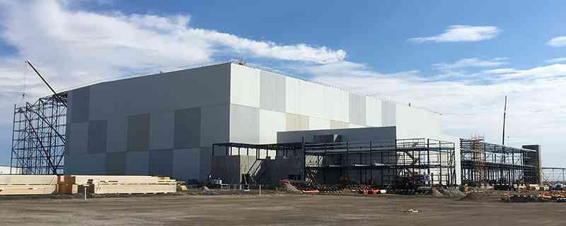 Australia's largest cold storage building being built in Victoria