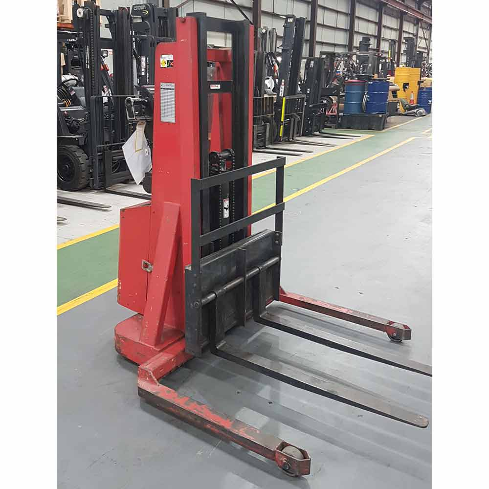 Crown 1T Used Electric Walkie Stacker 20MT - Front view