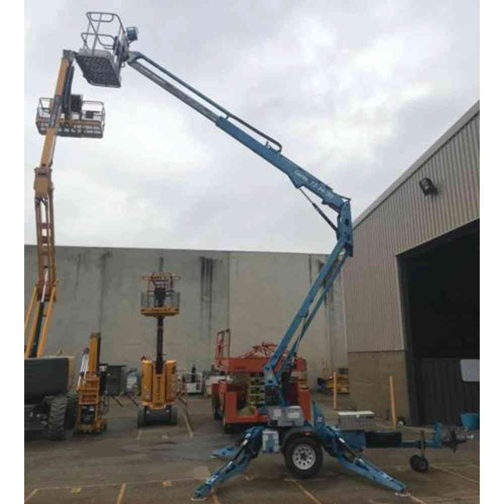 Genie Used Trailer Mounted Boom TZ 3420 - Extended