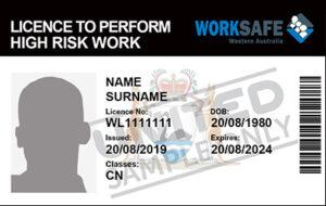 HRW License CN Class