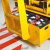 Haulotte Compact 14 scissor lift battery compartment