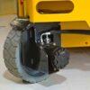 Haulotte Compact 14 scissor lift wheel