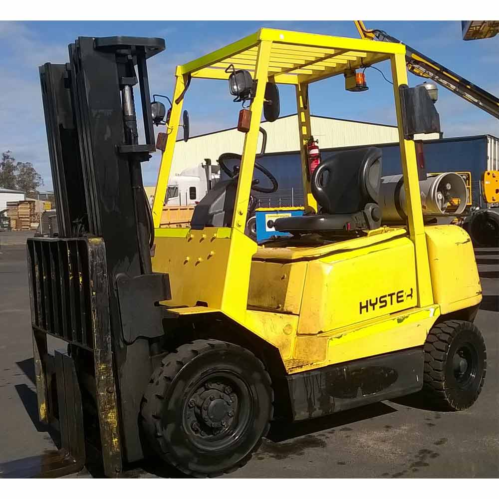 Hyster 2.5T Used LPG Forklift H250DX - Side view