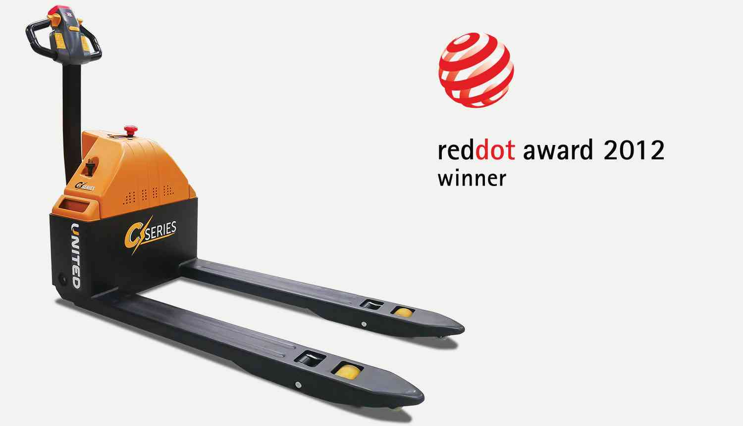 NPP15E pallet truck was awarded the Red Dot Award in 2012