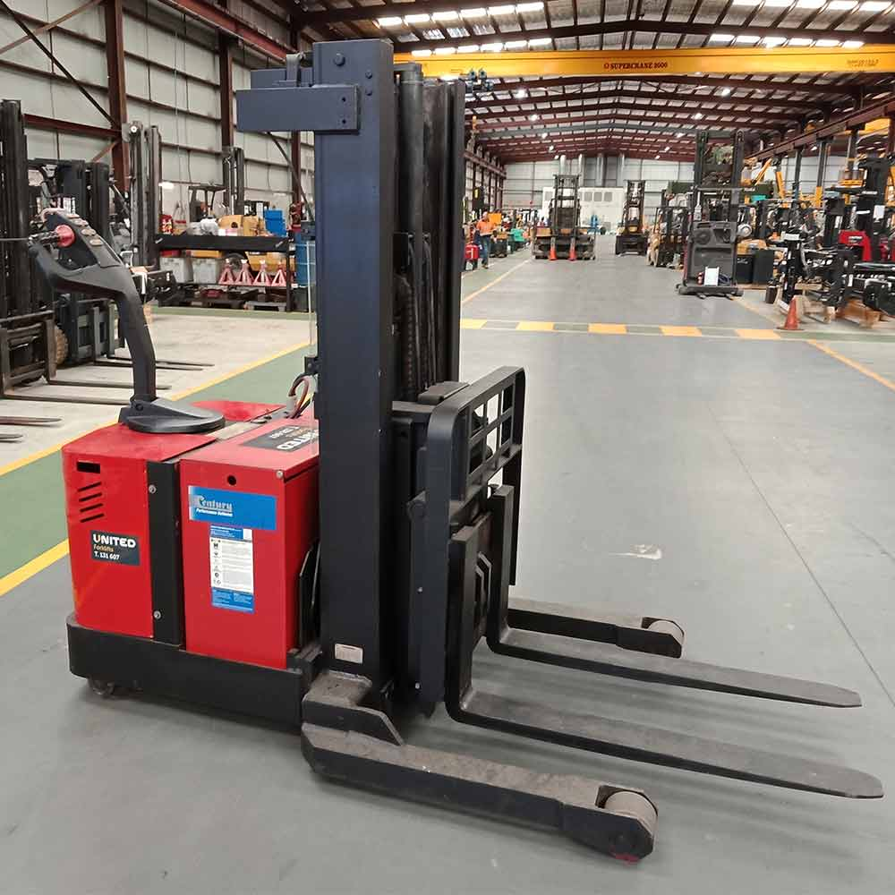 Raymond 1363kg Used Electric Walkie Stacker RWR300 - side view