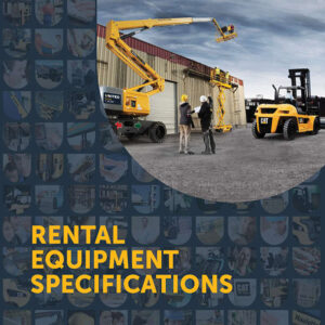 United Rental Equipment Specification brochure