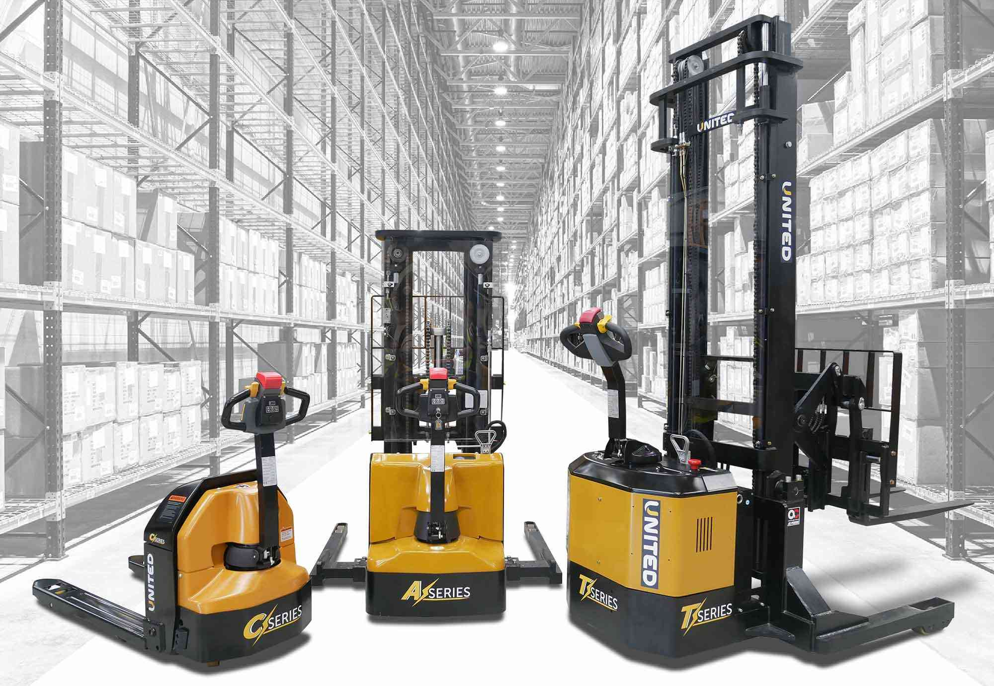 New United range of electric forklifts now available