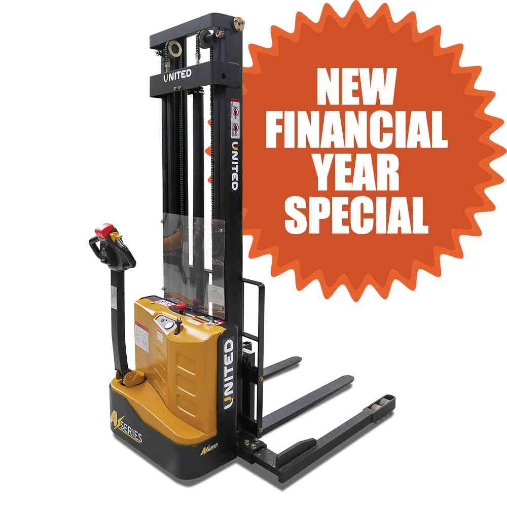 United A-Series NSP12ES Walkie Stacker now on special