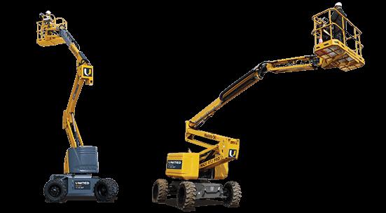 Articulating boom lift hire