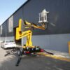 Comet trailer mounted boom lift can be used for all working at height applications.