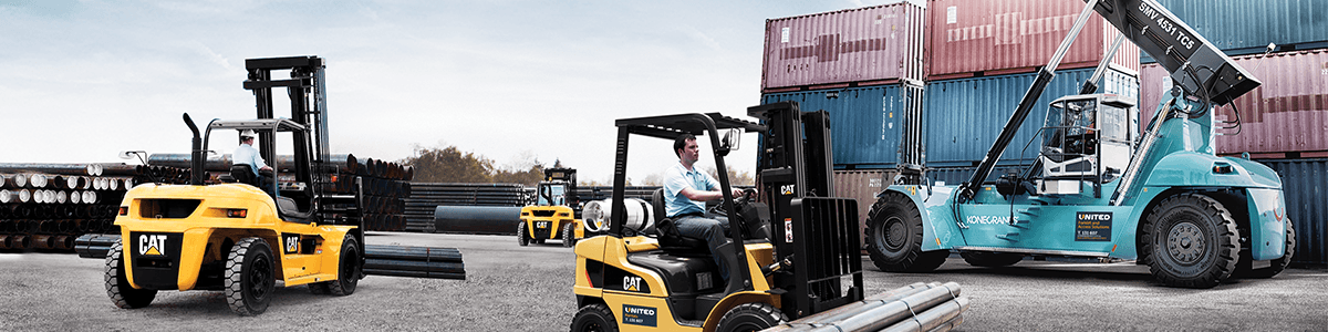 United Forklift hire Australia wide