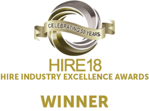 Hire18 Rental Company of the Year Winner