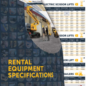 United rental equipment specification guide