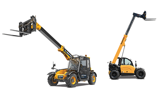 Compact telehandlers for hire