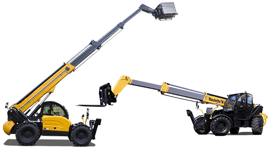 High lift telehandlers for hire
